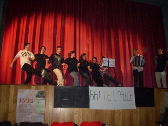 La troupe a Limoges