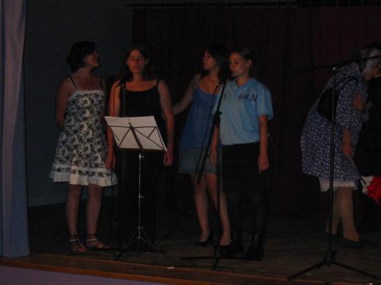 Une belle brochette de chanteuses
