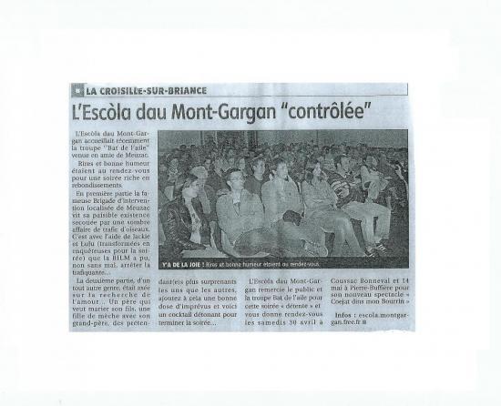 La Croisille-sur-Briance le 16 avril 2011